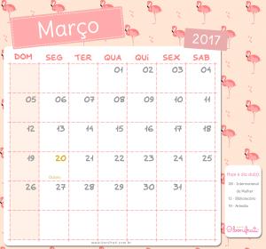 """Resultado de imagem para calendario de """"março"""" para preencher"""