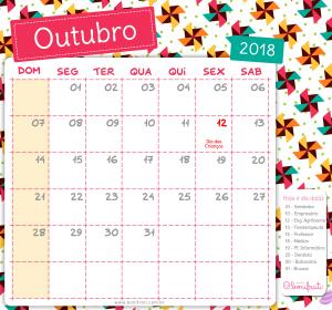 10 - bonifrati - calendario - outubro - 2018